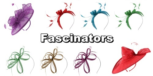 Complete Range of Fascinators